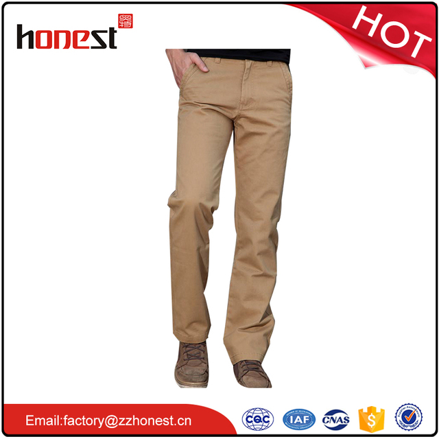 hot sale slim cotton trousers cargo pants chino trousers mens pants