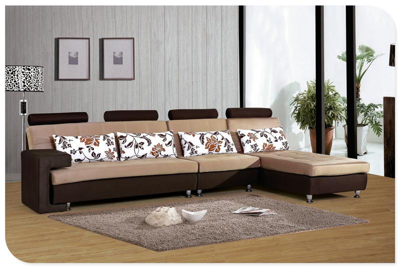 Living muebles de la sala en forma de l sofá dubai precios sofá ...