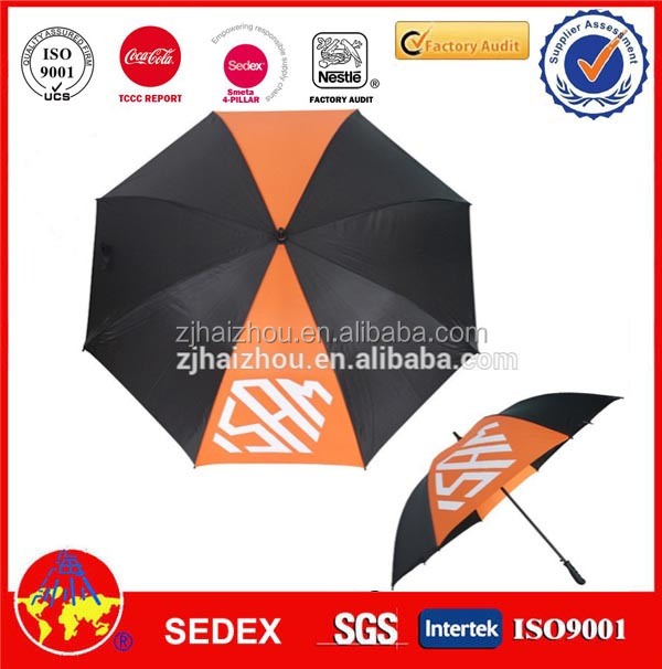 professional advertising golf umbrella