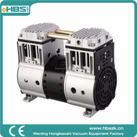 HBS HP-1400V low pressure and efficiency alternating current piston vacuum pump