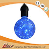 new product lustre led colored Christmas bulb Lights multicolor with cooper wire inside