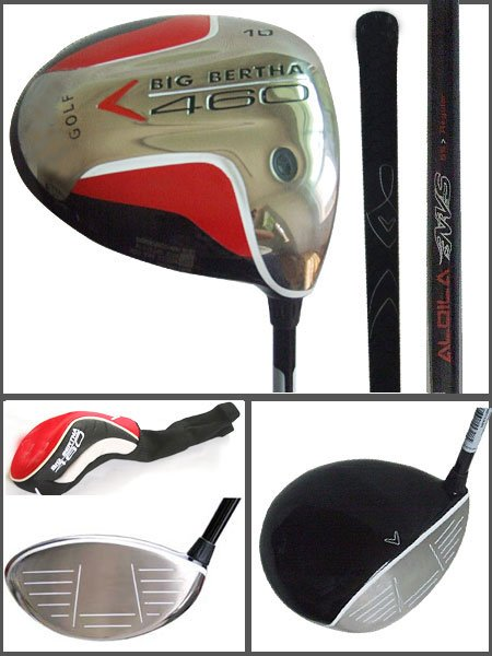 Golf Driver Cw Big Bertha 460 Drivers