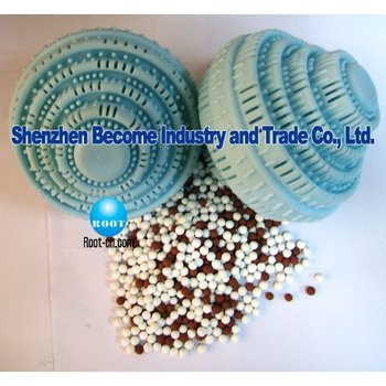 As shown on the TV Washing Machine Laundry Plastic Cover Washing Ball