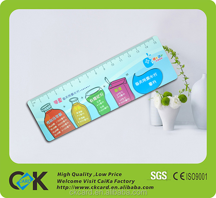 Hot sale custom 3D lenticular ruler from golden supplier