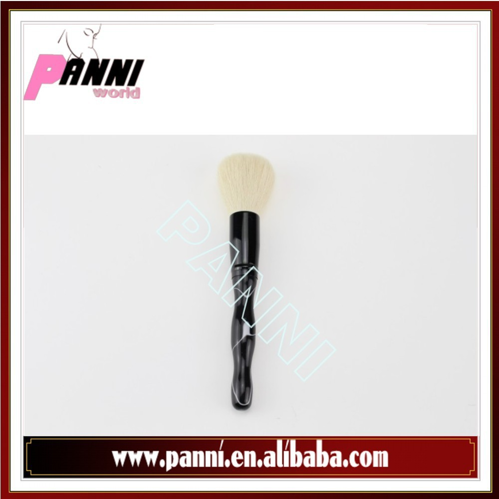 Good quality acrylic hand powder brush for makeup