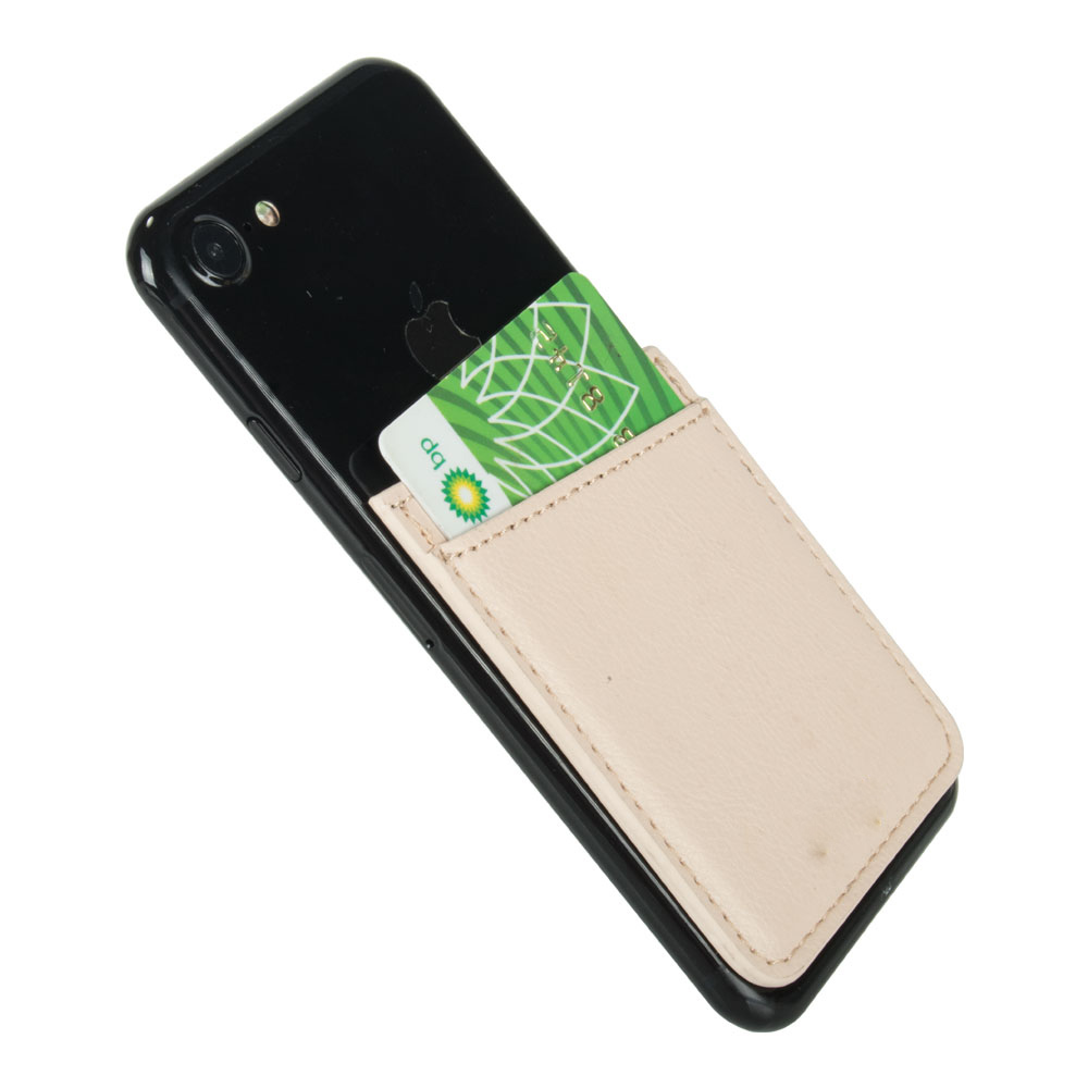 Universal phone Slim Self Adhesive DOUBLE POCKET Phone Card Holder Stick on any Phones and Cases
