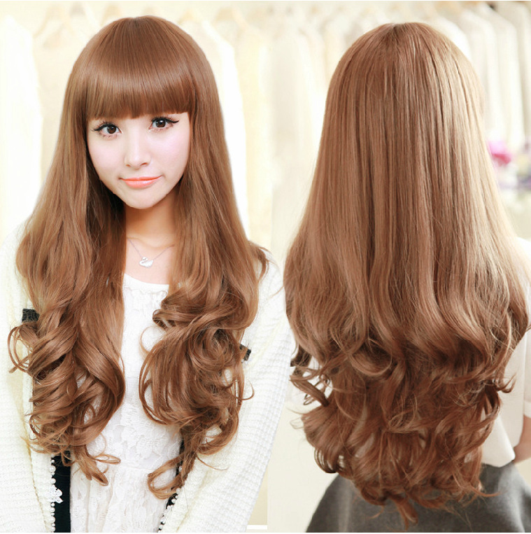 Big Curled Long Hair High quality long curly wig