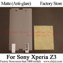 Matte Anti-glare Screen Protector Guard Cover protective Film For Sony Xperia Z3 D6653 L55t L55u 401SO D6603 D6633 D6616 D6643