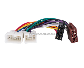 ISO Wire Harness For Toyota Factory Radio Iso Wiring Harness Adapter Twh-950+Iso