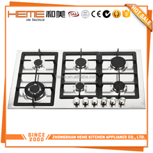 Europe type 6 burners Natural Gas/Liquefied Petroleum Gas natural gas indoor stove (PG9061S-A1CI)