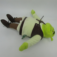 Shrek Monster doll with outfit soft plush toy