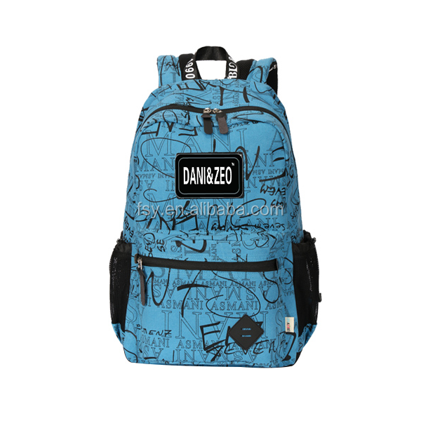 2016 Fashion girls college sublimation school bags backpack