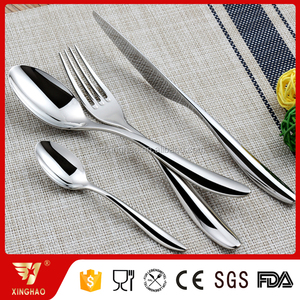 MOQ 1 Set All Color PVD Coating Acceptable 18/8 Mirror Polish Stainless Steel Cutlery
