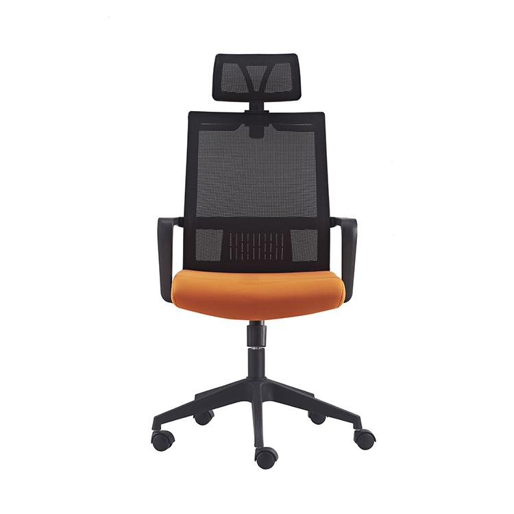 604A Direct Manufacturer BIFMA Standard fixed armrest adjustable headrest mesh executive ergonomic office Chair in stock
