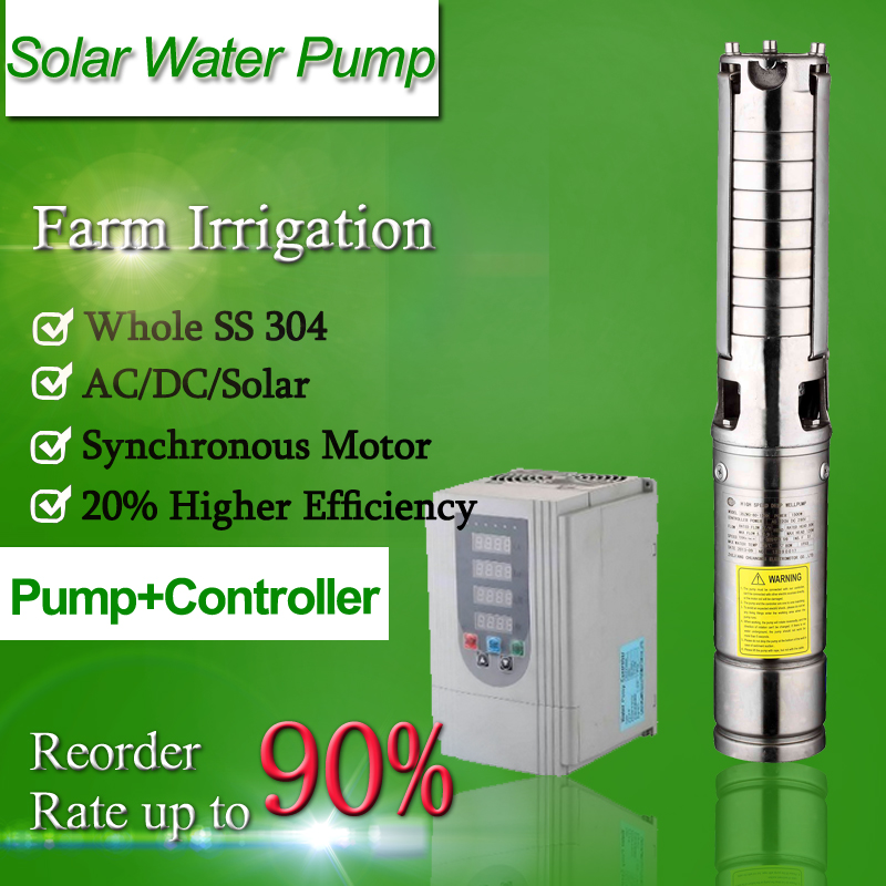 solar water pump dubai solar submersible pump deep well pump solar system
