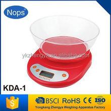 Zhejiang manufacture 5kgx1g digital kitchen scale