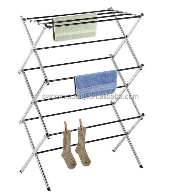 folding or foldable clothes drying rack/ Folding Clothes Drying Rack Clothes Dryer for Laundry and Home