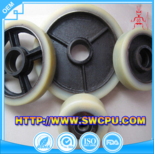 Single Wheel Pulley &Swivel Eye Pulley Wide Plastic Wheels
