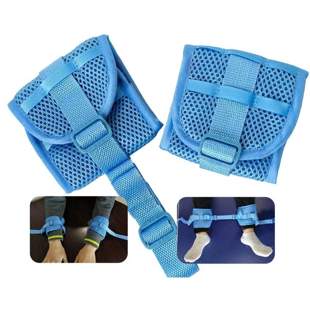 MQYH@ Medical Restricted Straps/Patient Hand Straps -wrist Ankle Restraint Hospital with Hands and Feet Fixed Strap Tie Strap