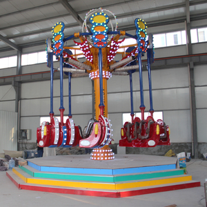 amusement park carnival swing rides