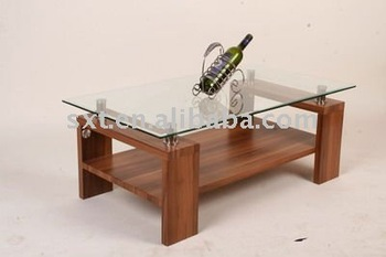 Modern Living Room Wooden Center Table Designs