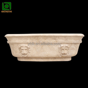 Hand Carved Marble Bath Tub