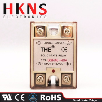 Solid State Relay Ssr 332vdc 40amp Dc To Ac Crydom Ssr48 Series Tuv