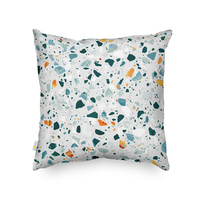 Monad Super Soft 45cm*45cm 100% Polyester Nordic Printed Cushion Cover For Home Decor
