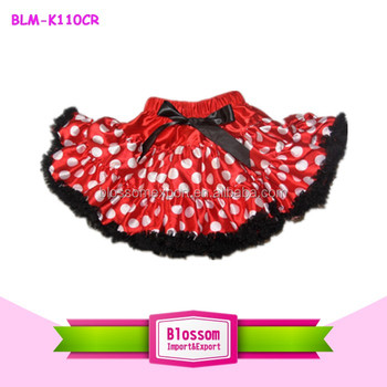 008a4a0dbd Persnickety Newborn Baby Girls Red with White Polka Dot Pettiskirt-Baby Tutu  Skirt Sets Baby