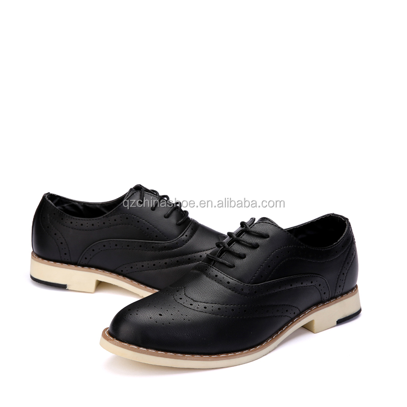 2017 new fashion leather casaul shoes for mens