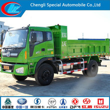 New condition left hand drive FOTON Dump Truck 6 wheels diesel type FOTON tipper 4X2 Foton tipper car
