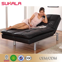 Sale french japanese Tatami Folding Style leather and upholstered modern sofa bed
