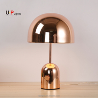 New design decoration copper hotel bedroom table lamp