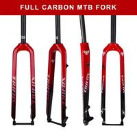 "29"" Bicycle Fork Super Light weight Full Carbon Fiber MTB Mountain Bike Front Fork"
