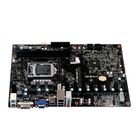 LGA1150 socket Intel 4th i3-i5-i7/Pentium/Celeron CPU Mining machine board