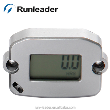 Runleader Lcd Digital Inductive Hour Meter Record Max Rpm Tachometer For Jet Ski Motorcycle
