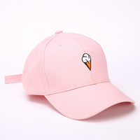 Wholesale custom trendy designer girls large high quality baseball caps