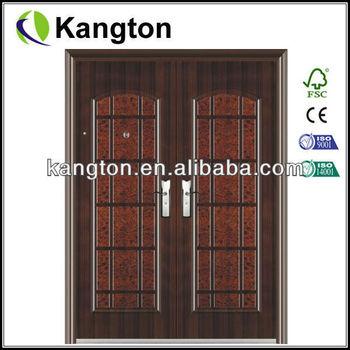 metal double doors exterior steel door buy steel door steel plate