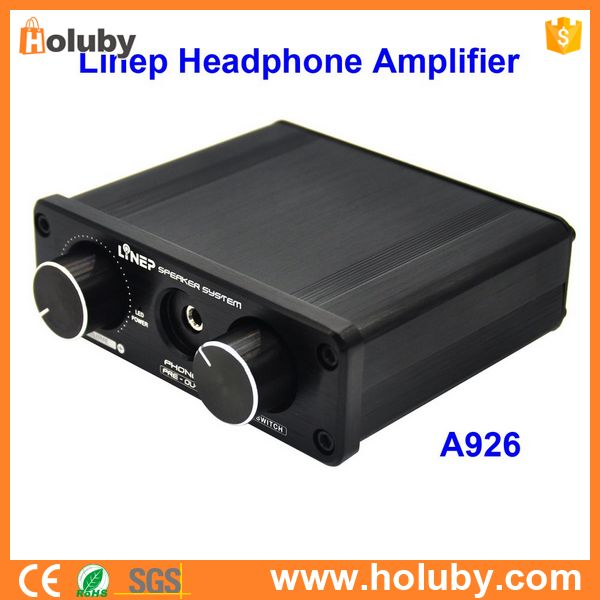 China Linep A926 Four-In Two-Out Signal Headphone Amplifying Switcher, Linep Headphone Amplifier