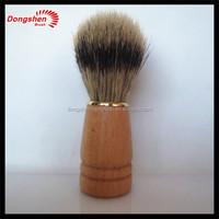 boar bristle wooden handle shaving brush,wooden boar bristle hair mens shaving brushes