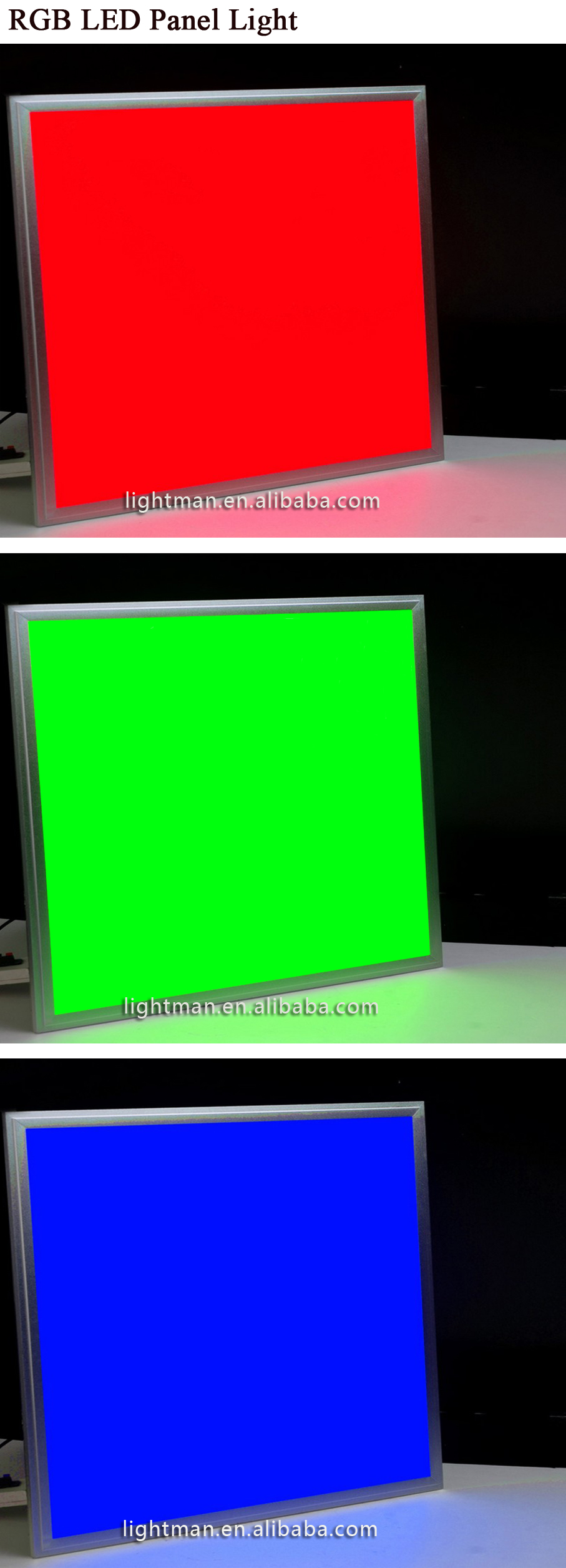 Multi Color Change 38w Double Color 620x620 Rgb Led Panel