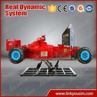 "Simulator arcade racing car game machine F1 dynamic 42""CRAZY SPEED car simulator machine"