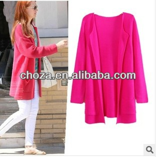 C60589A 2013 FASHION NEWEST STYLE CANDY COLORS WOMEN'S CARDIGAN SWEATER