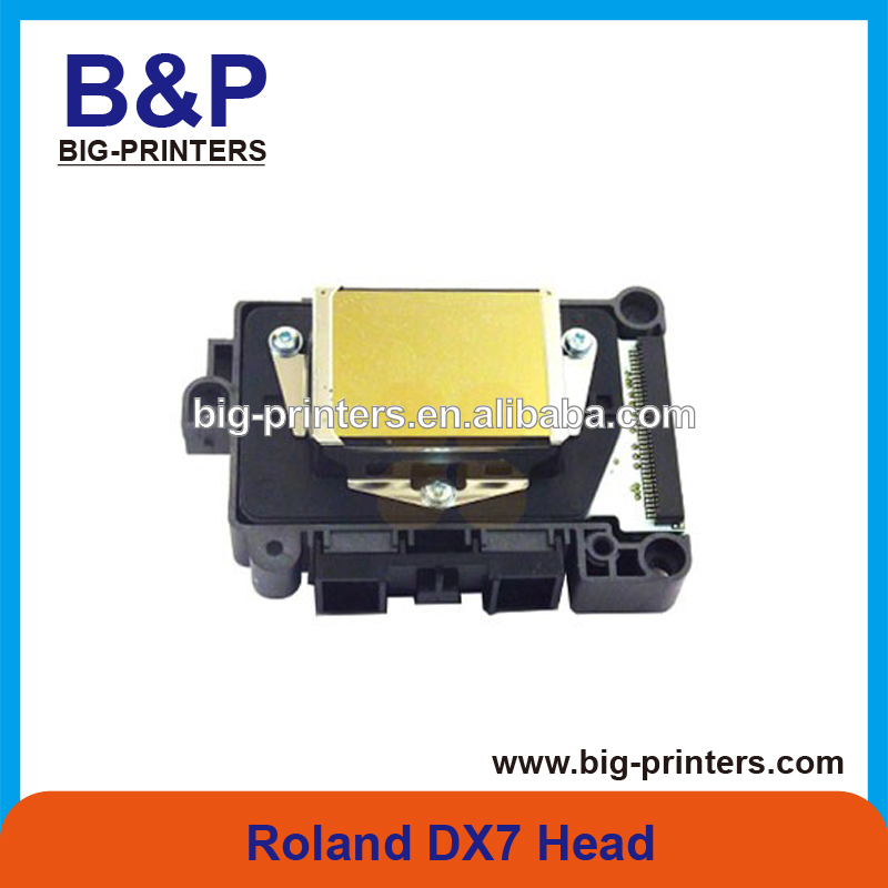 Original inkjet printer spare parts Roland DX7 PrintHead for Epson for roland RE-640 / RA-640 / roland versaart rs-640 Printer