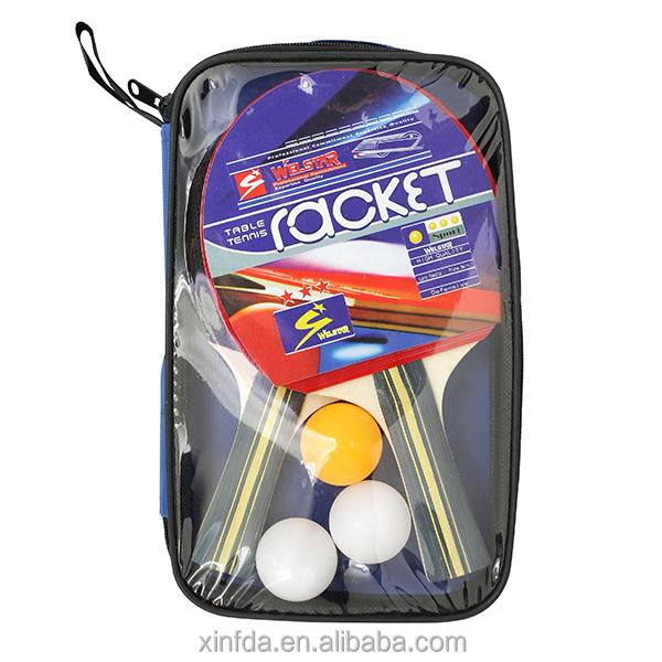 Низкая цена, высокое качество для пинг-понга ракетка для настольного тенниса с 3 мячи для настольного тенниса, оптовая продажа