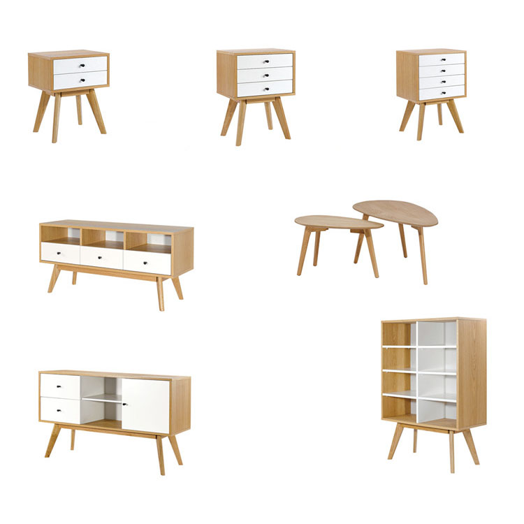 Modern furniture design cheap wooden small bookcases for kid