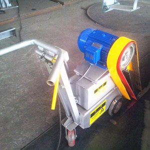 XINYIDA Small cart buffing machine with abrasive belt hand operating