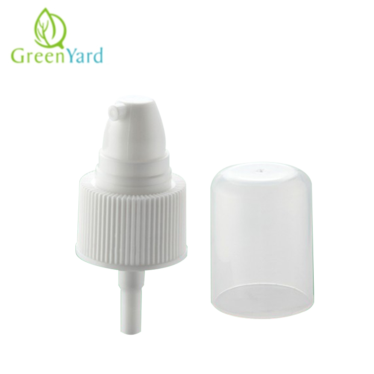 20/410 treatment pump with bottle cream pump fine mist sprayer
