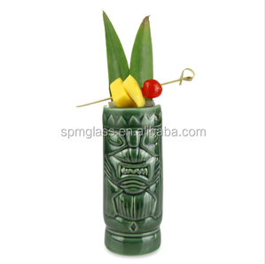 Japanese Creative Cocktail Barware Martini Hawaii CheapTiki Ceramic Mug Wholesale