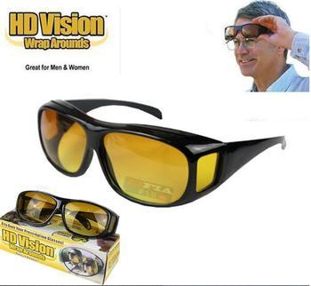 29d3d5d057b HD Night Driving Glasses - Anti-glare HD Vision - Yellow Tint Polycarbonate  Lens -